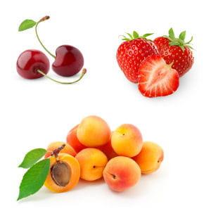 mieux vaut éviter d'associer des fruits dont la saison diffère.