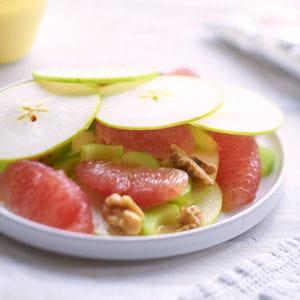 salade waldorf au pamplemousse de floride