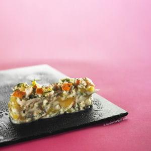 salade de surimi mangue et coco