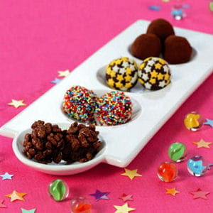billes au chocolat