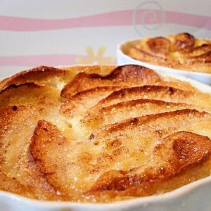 petits clafoutis pommes-cannelle