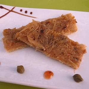 pissaladière aux oignons doux des cévennes