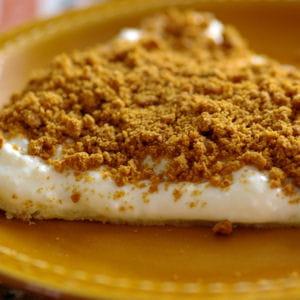 tarte au fromage blanc et aux speculoos