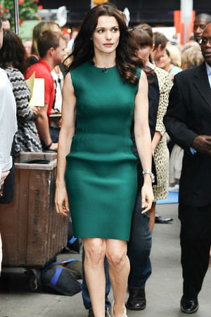 rachel weisz à new york le 31 juillet 2012 pour l'émission good morning america