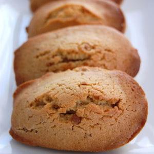 madeleines à la pâte de speculoos