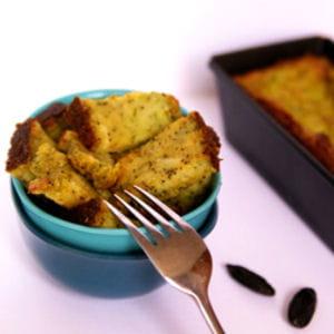cake chèvre-courgettes fondant
