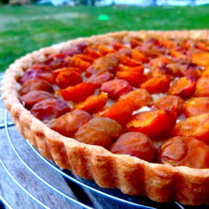 la classique tarte aux mirabelles 