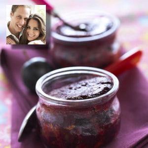 recette préférée kate middleton plum-pudding