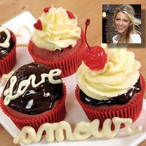 recette préférée blake lively : red velvet cupcake