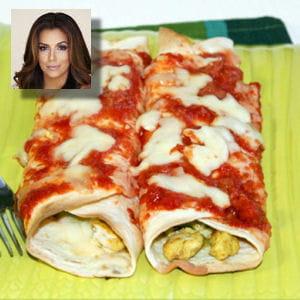 recette préférée eva longoria : enchiladas