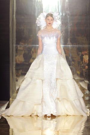 D fil georges chakra couture automne hiver 2012 2013 for Prix de robe de mariage en or georges chakra