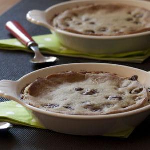 clafoutis sans oeuf et sans gluten au thé matcha