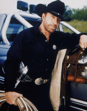chuck norris dans walker, texas ranger