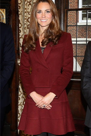 kate middleton en paule ka le 8 octobre 2012  londres 
