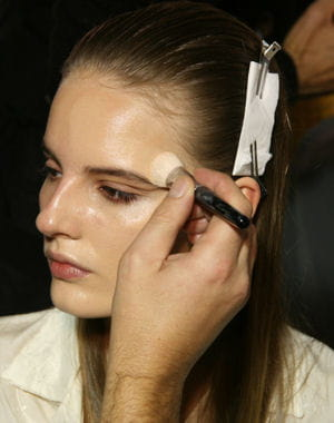 backstage dfil giambattista valli prt--porter printemps-t 2013. 