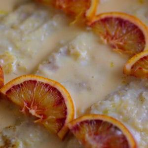 filets de merlan à l'orange