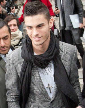 Baptiste Giabiconi couple