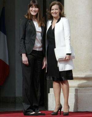 carla bruni lors de la passation de pouvoir en mai dernier. 