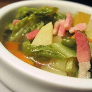 soupe au chou légère
