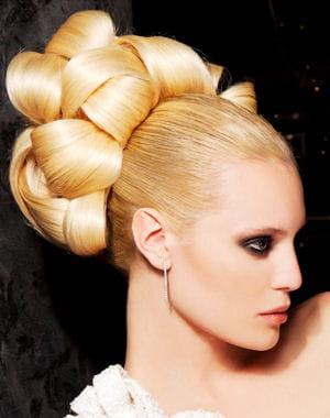 Les coiffures de soir e coiffure de soir e des id es pour les f tes journal des femmes - Coiffure pour les fetes ...