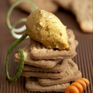 pâte à tartiner aux carottes, speculoos, citron et cannelle