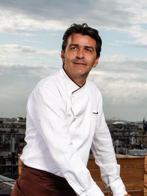 yannick alléno, chef du meurice et de terroir parisien