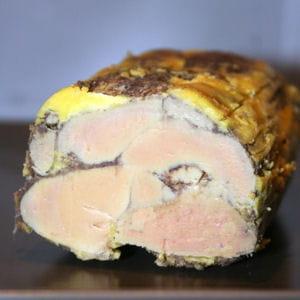 foie gras mi-cuit au cacao
