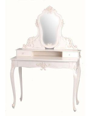 une coiffeuse style boudoir. Black Bedroom Furniture Sets. Home Design Ideas