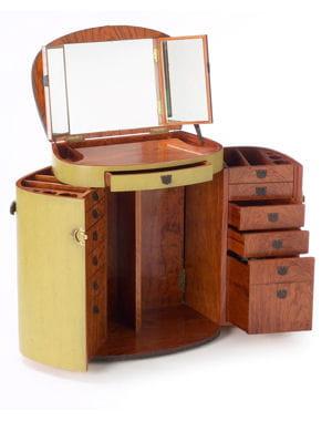 une coiffeuse nomade 10 coiffeuses pour votre chambre journal des femmes. Black Bedroom Furniture Sets. Home Design Ideas