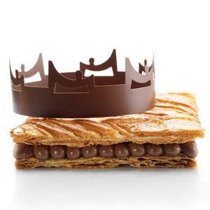 galette des rois au chocolat asomboko la maison du chocolat