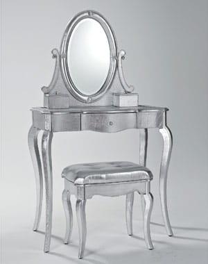 une coiffeuse n o romantique 10 coiffeuses pour votre chambre journal des femmes. Black Bedroom Furniture Sets. Home Design Ideas