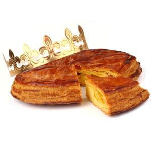 galette de rois à la frangipane.