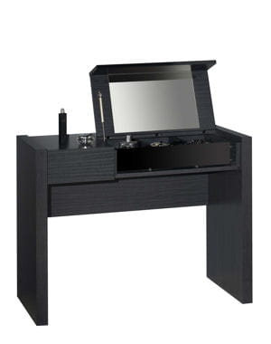 une coiffeuse contemporaine 10 coiffeuses pour votre chambre journal des femmes. Black Bedroom Furniture Sets. Home Design Ideas