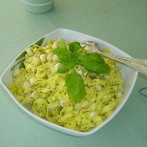 pâtes aux pétoncles et beurre d'escargot