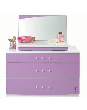 une coiffeuse pastel 10 coiffeuses pour votre chambre journal des femmes. Black Bedroom Furniture Sets. Home Design Ideas