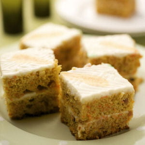 carrot cake avec glaçage au kiri