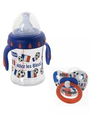indispensable pour les papas qui s'occupent de bébé en regardant les matchs...