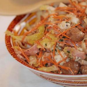 salade d'hiver à l'endive