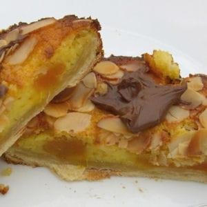 tartelettes amandine aux abricots secs