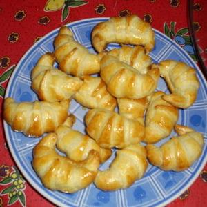 croissants saumon fumé
