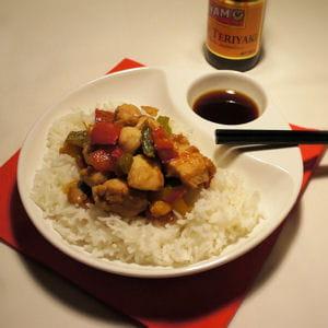 poulet asiatique