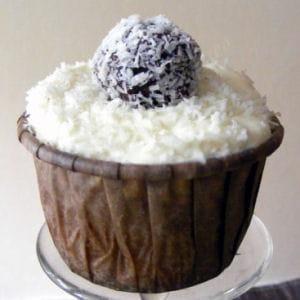 cupcakes coco-pralin, truffes choco-coco