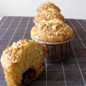 muffins coco-choco-caramel (werther's original)