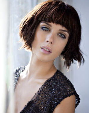 Coiffure 2013 carr romantique for Coupe courte femme de cheveux jean claude aubry