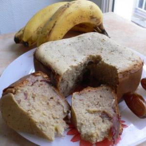 fondant de dattes à la banane