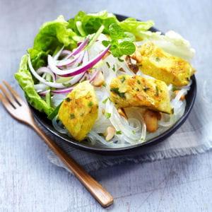 salade de poulet façon thaï