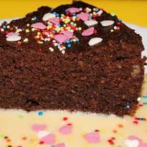 quatre-quarts au chocolat au micro-ondes