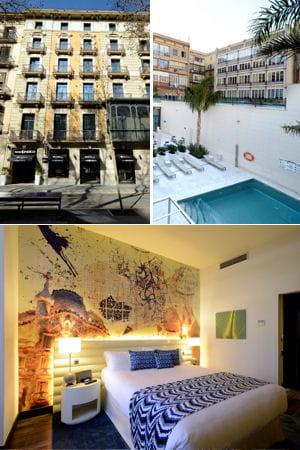 l 39 h tel indigo barcelona plaza catalunya barcelone espagne couple nos id es de week ends. Black Bedroom Furniture Sets. Home Design Ideas