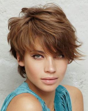 Coupe de cheveux : les coupes courtes du printemps : Coiffure 2013