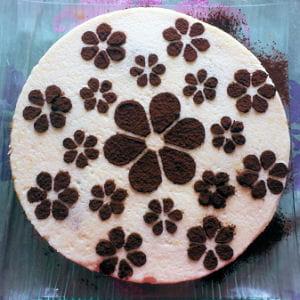 bavarois poire chocolat biscuit spéculoos
